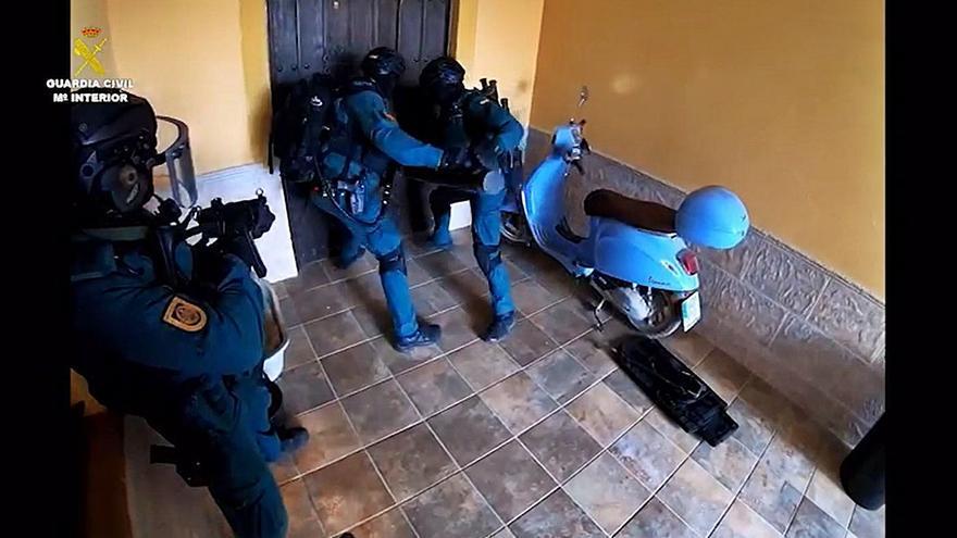 Cae una gran red de narcos que traficaba en Cádiz y Huelva