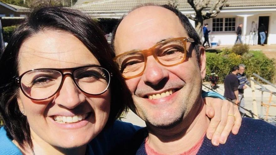 "El emotivo mensaje de Silvia Abril a Jordi Sánchez por su ingreso por coronavirus: ""Te quiero segundo marido"""