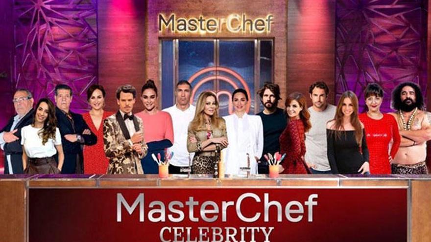 'MasterChef Celebrity': la lista definitiva de concursantes de la cuarta edición