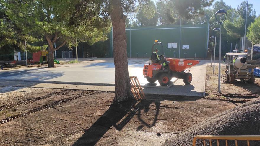 Arranca la remodelación del parque de El Pantano de l'Alcora