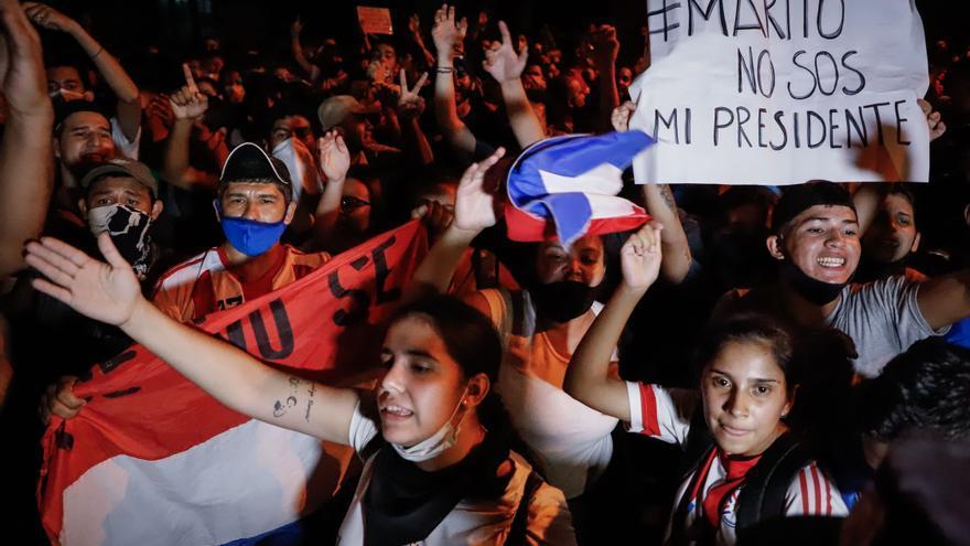 La tensión se recrudece en Paraguay con nuevas protestas