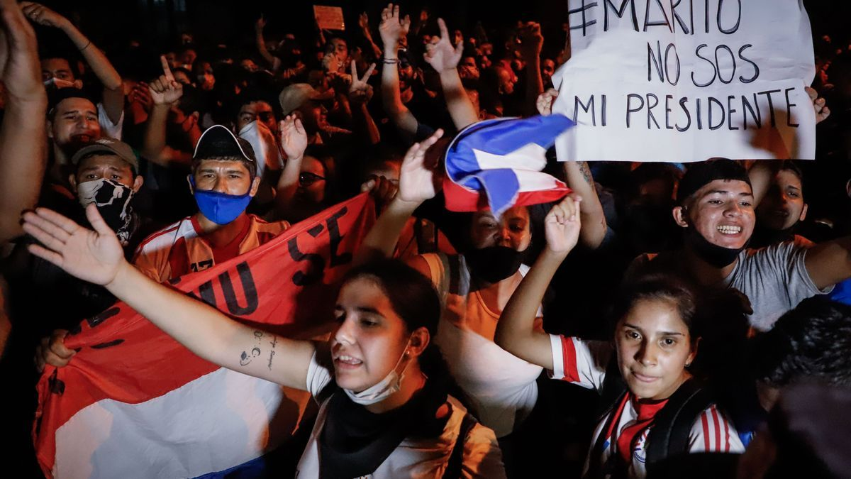 The protests in Paraguay have once again increased the climate of tension.