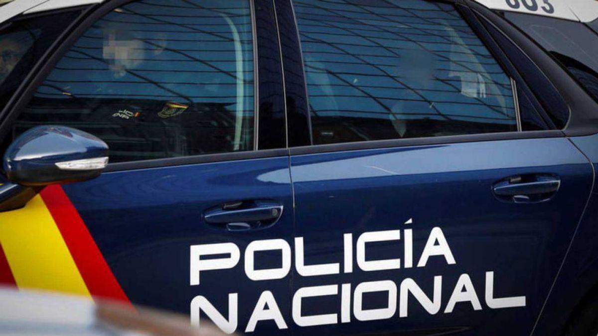 Detención de la Policía Nacional.