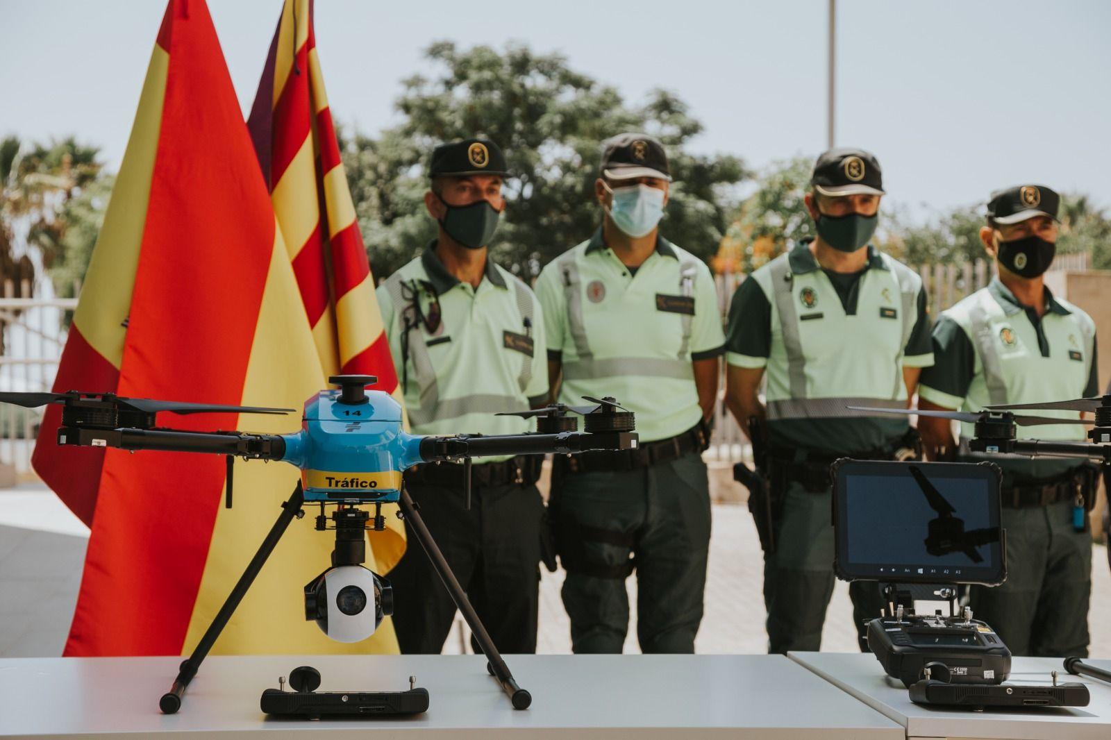 Baleares contará con tres drones de vigilancia para las carreteras