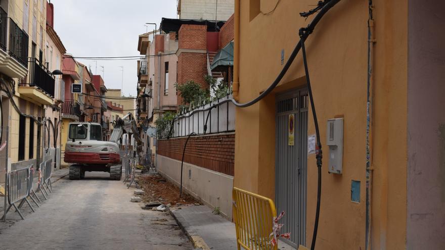 Continúan las obras de mejora del barrio del Alter de Torrent