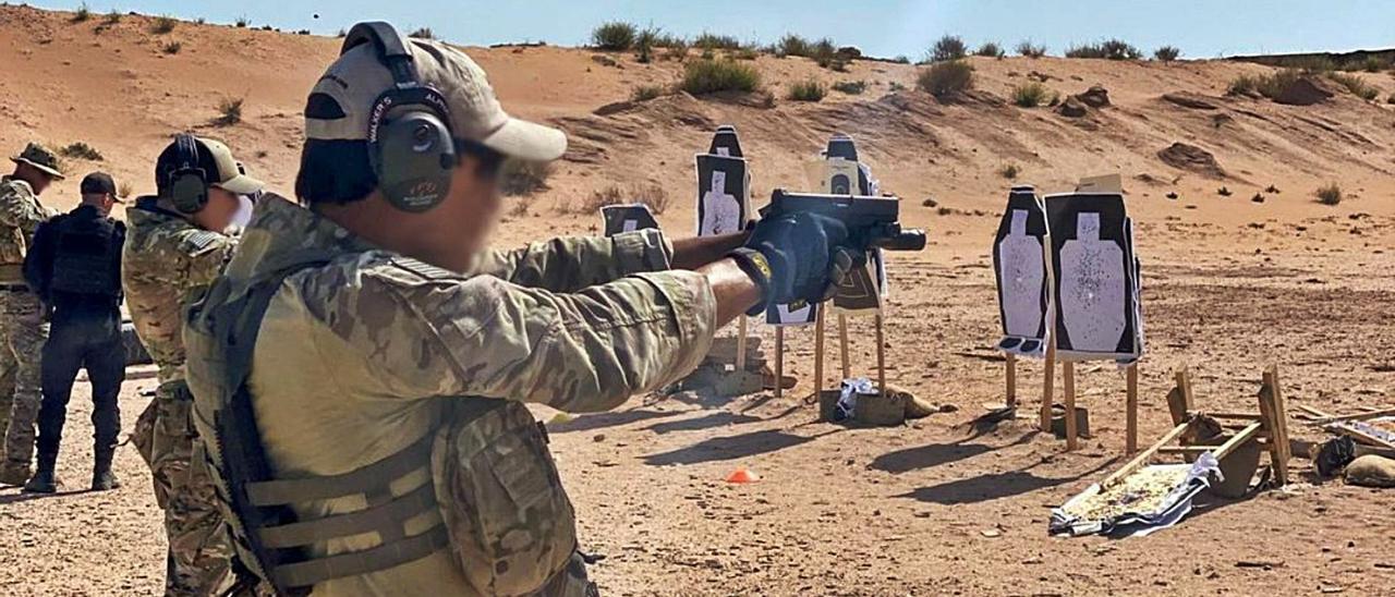 Tropas americanas y marroquíes participan en las maniobras militares 'African Lion', que se llevan a cabo en Marruecos.