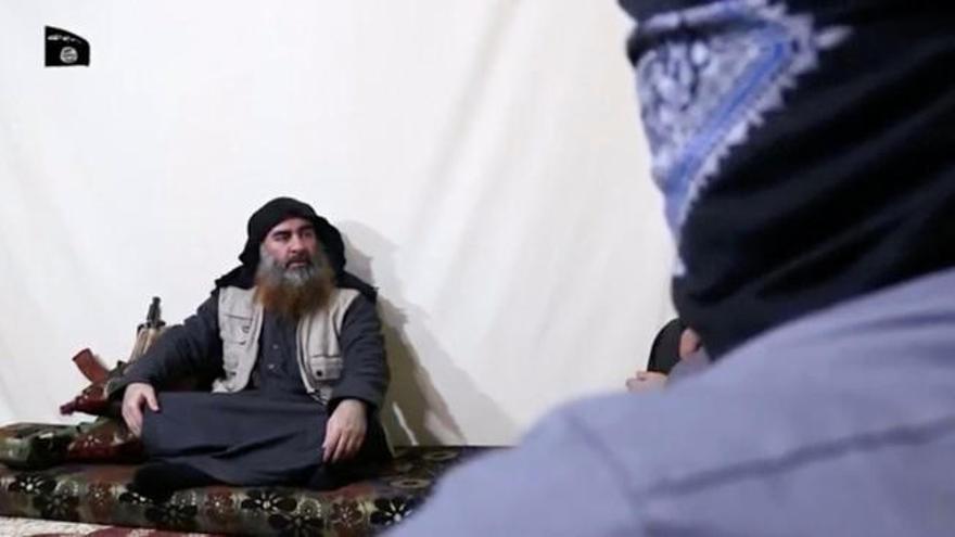 Al Baghdadi reaparece en un vídeo publicado por el Estado Islámico