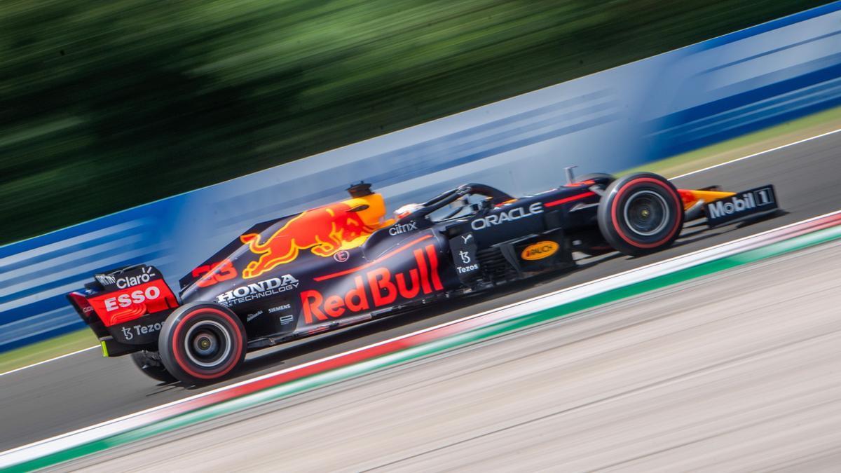 El piloto de Red Bull Max Verstappen.