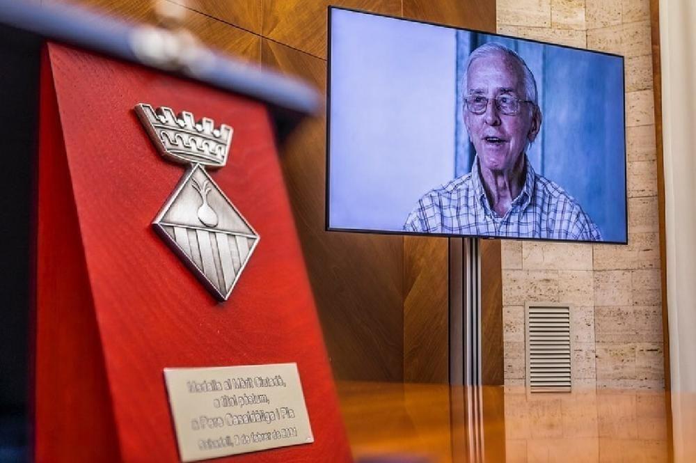 Medalla de ciutat de Sabadell a Pere Casaldàliga