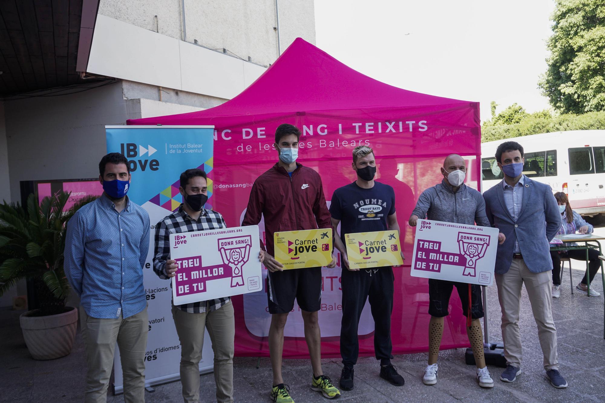 40 bolsas de sangre: éxito de la campaña de donación entre los deportistas del CTEIB