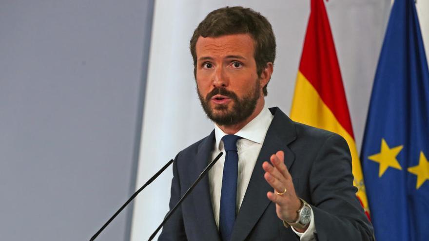 Casado acusa a Álvarez de Toledo de cargar contra el PP