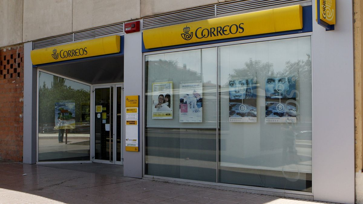 Una oficina de Correos en Madrid.