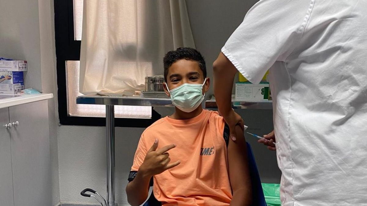 Vaccination against covid in Lanzarote for people over 12 years old.