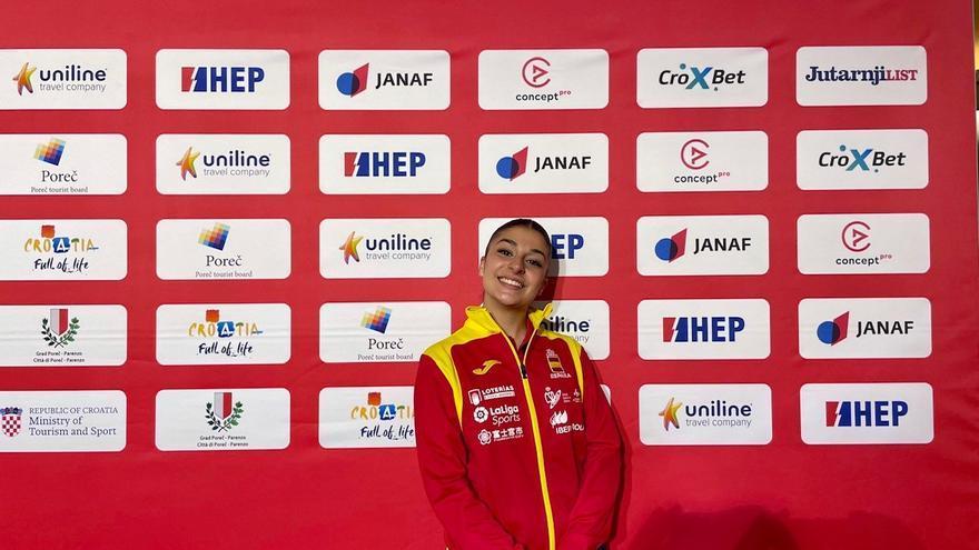 Marta García se clasifica para la final del Europeo de Croacia