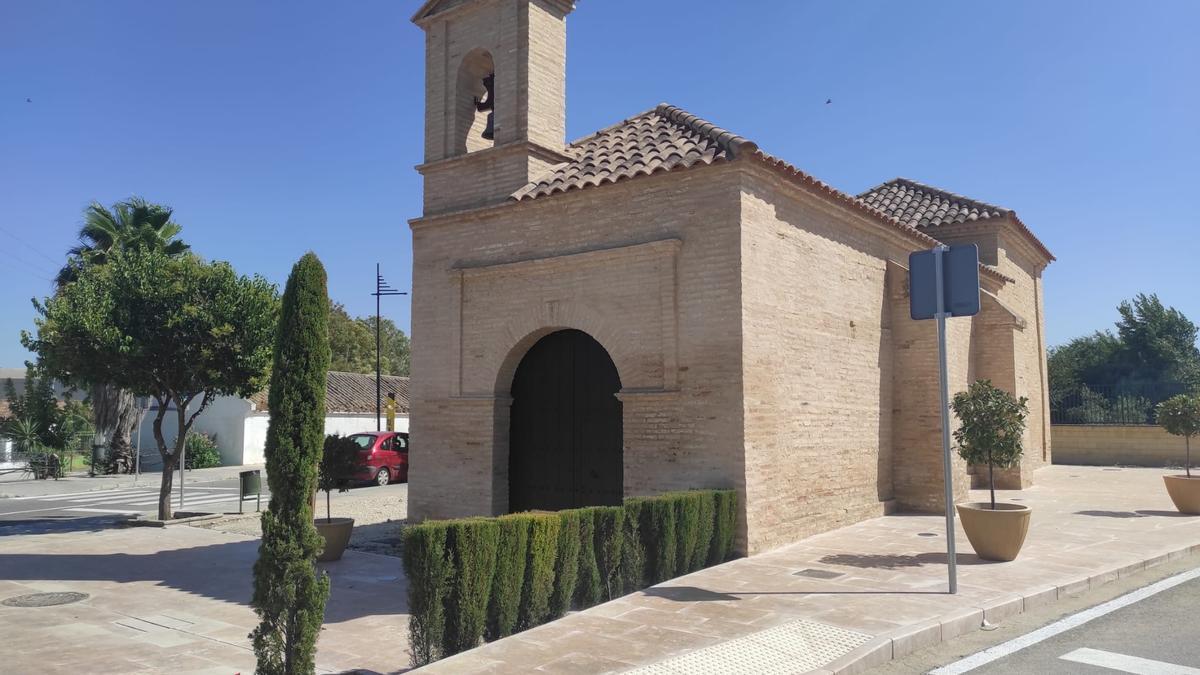 Estado actual de la ermita de la Consolación de Bujalance.