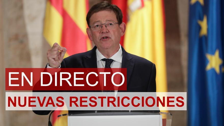 Cierre total de la hostelería en la Comunidad Valenciana y del comercio a las 18.00 horas