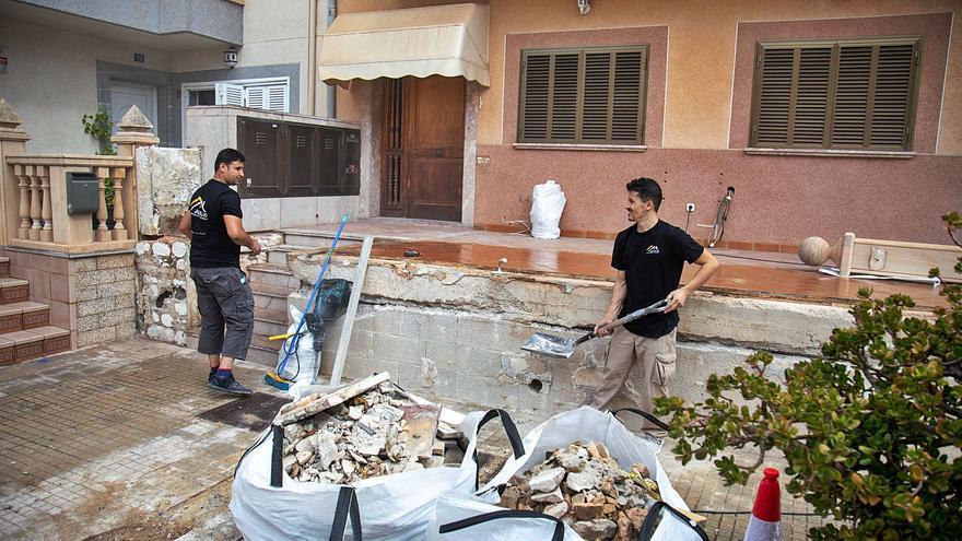 Las obras de la rampa para Alba ya han comenzado gracias a la solidaridad