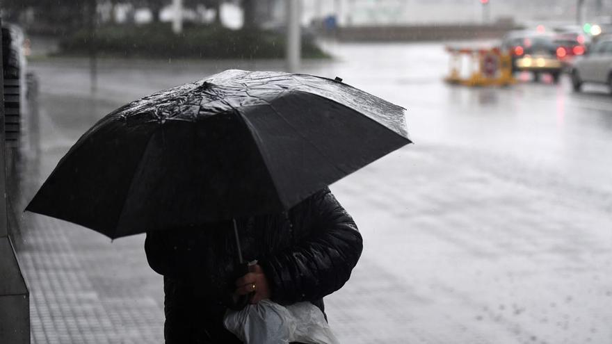Previsión del tiempo: Lluvias fuertes con posibilidad de tormenta en la costa de la Región