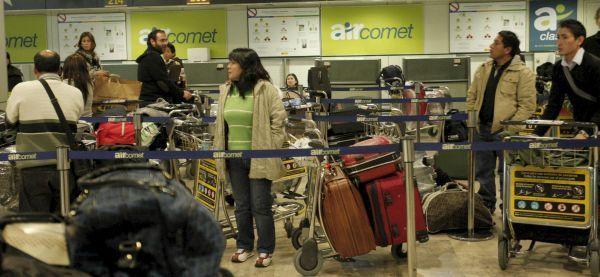 Air Comet echa el cierre por no poder afrontar su deuda