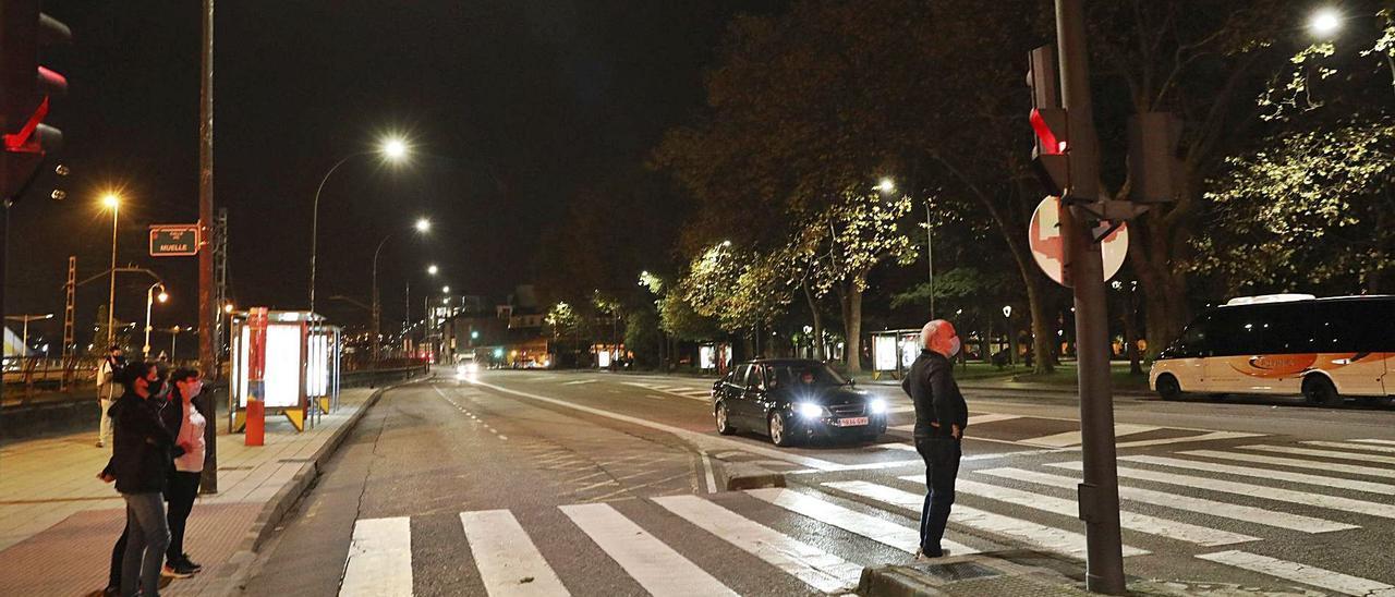 Estado actual de la calle del Muelle.   Ricardo Solís