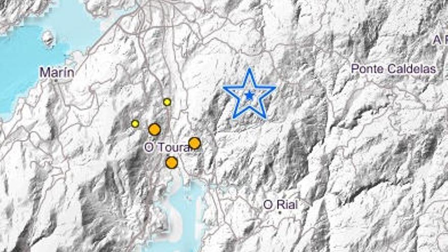A Fracha, epicentro de un nuevo terremoto en Vilaboa