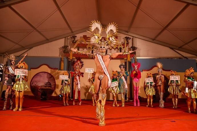 Drag Quirón se convierte en la primera reinona del Carnaval de Teror