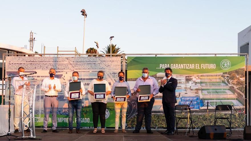 El Club de Tenis Valle de Aridane celebra su 50 aniversario