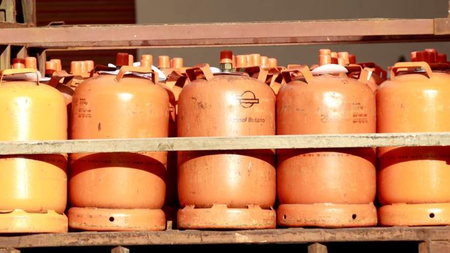 El precio de la bombona de gas butano subirá un 4,87% a partir de hoy