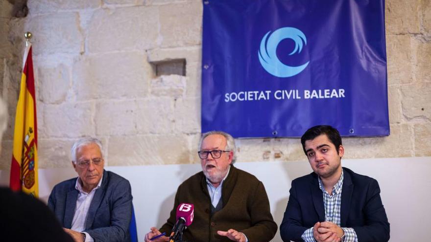 Palma acoge una concentración en defensa de la unidad de España este domingo