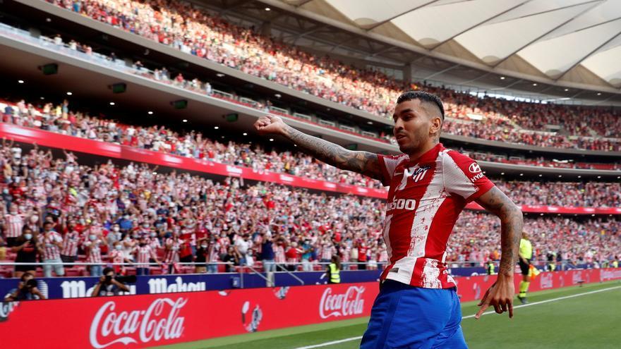 Correa da la victoria al Atlético ante el Elche