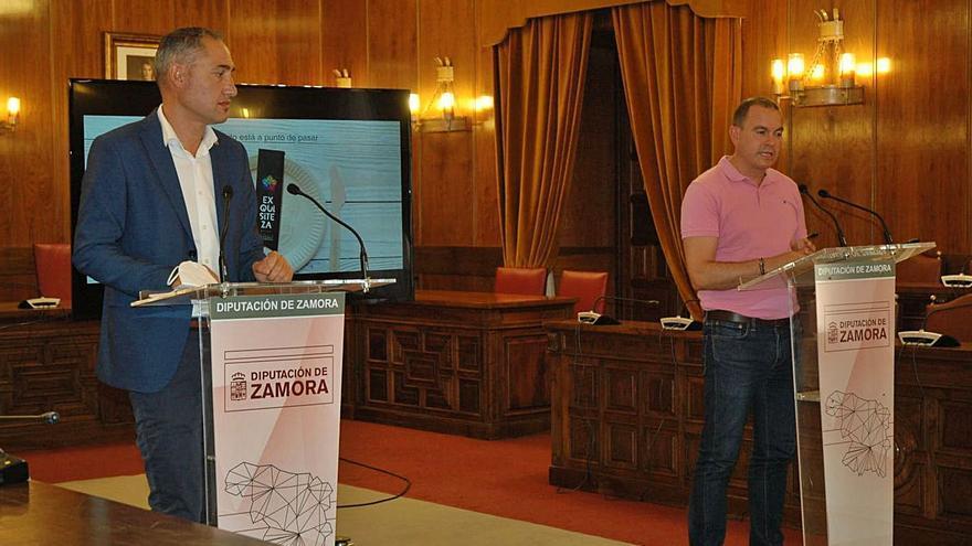 La Diputación de Zamora saca a la venta los productos de Exquisiteza