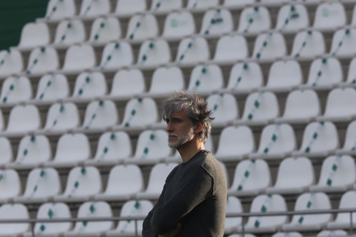 Frenazo en seco del Córdoba CF