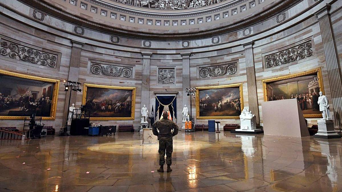 La policia del Capitoli va alertar que el Congrés podria ser assaltat