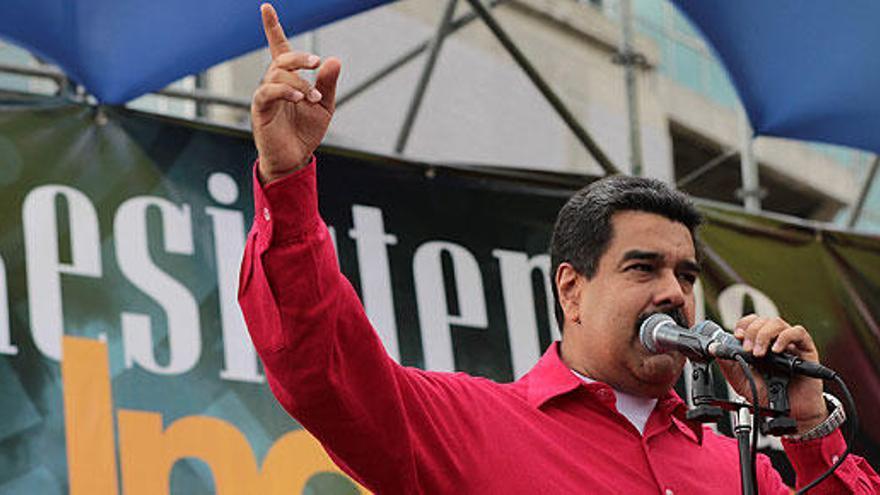 """Maduro: """"La Corona española debe pedir perdón por el holocausto en América"""""""