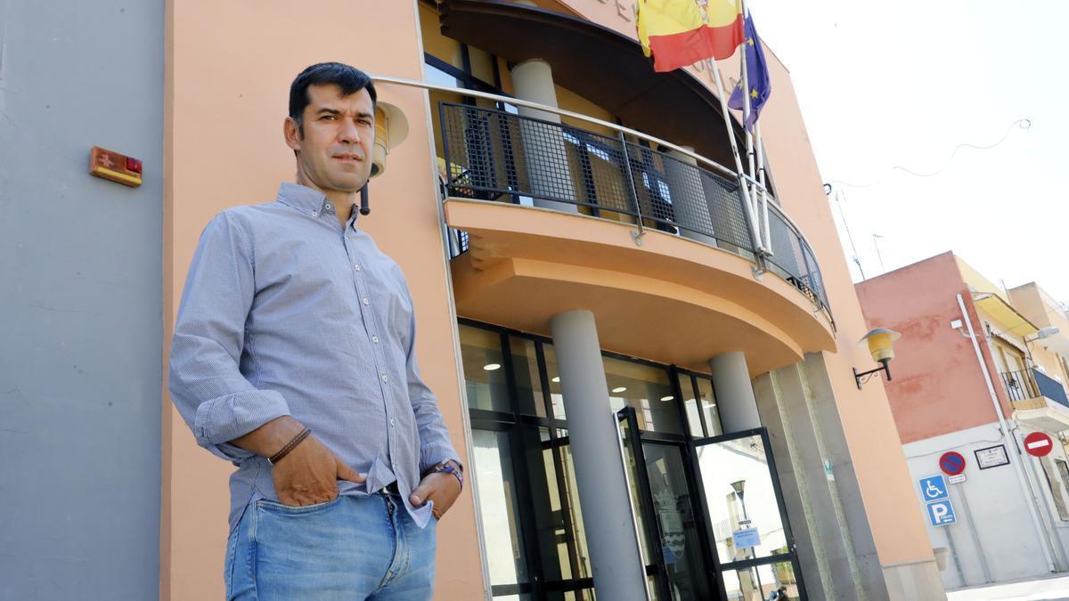 El alcalde de Massalfassar, Álvaro Montañés.