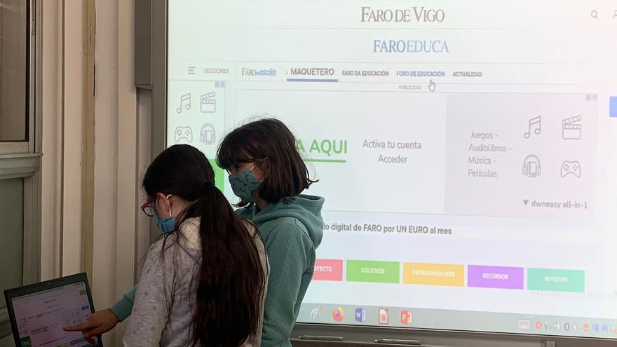 La receta del Faro da Escola de la pandemia: imaginación y herramientas digitales
