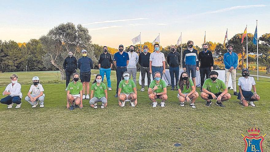 Clausura del circuito junior 2020 en el Golf Alcanada
