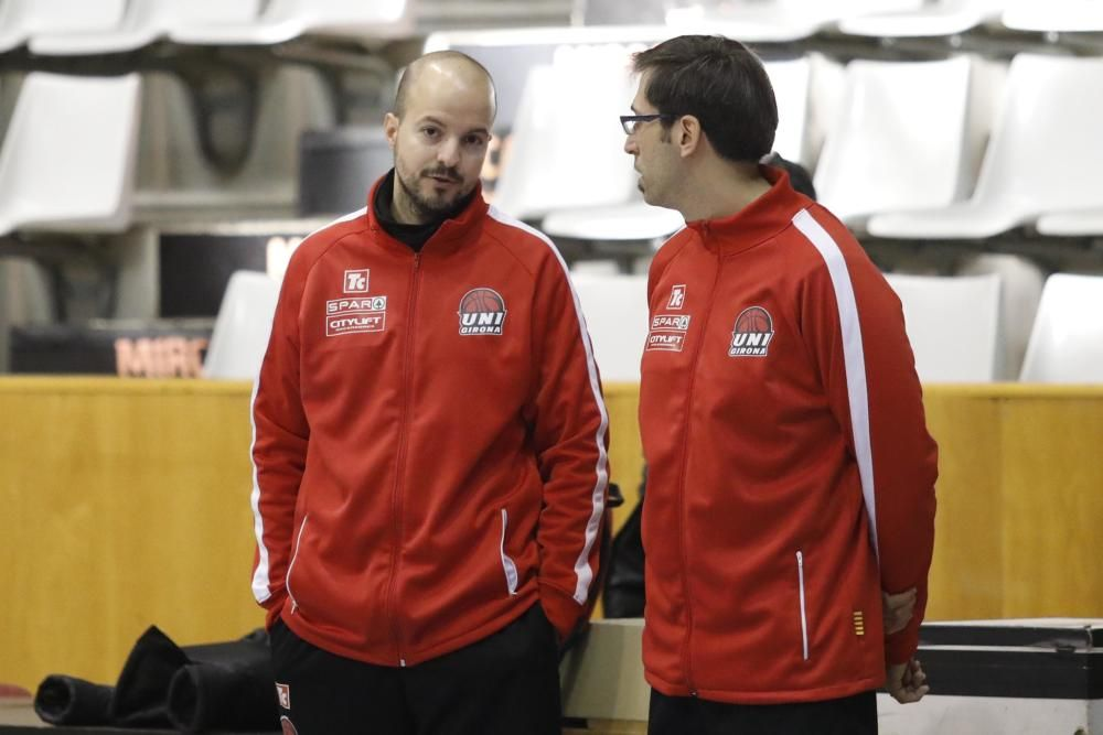 Entrenament de l'Spar Citylift Girona