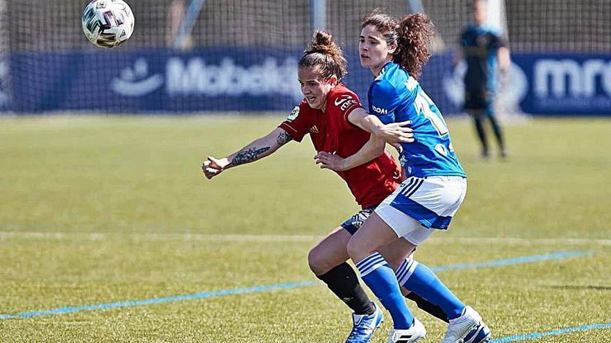 El Oviedo Femenino cae ante Osasuna en un mal encuentro