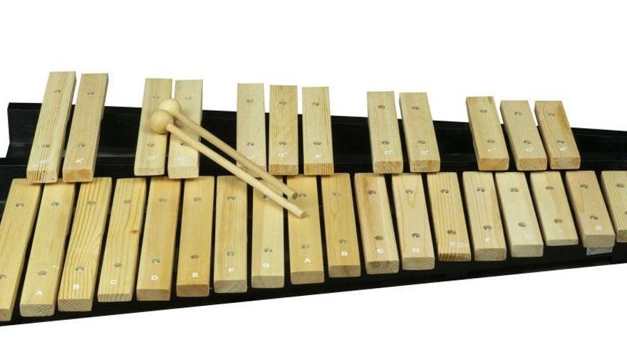 Experimentos para niños: Tonos musicales y un xilófono