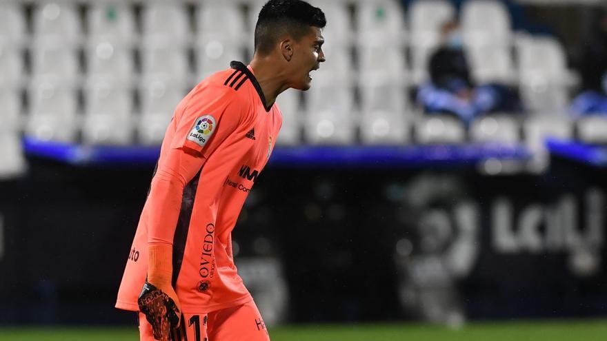 El once del Oviedo en Copa: Brazão, suplente