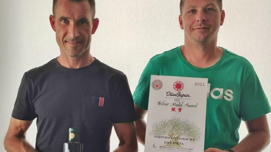 El aceite de Canet lo Roig, medalla de plata en un concurso de Japón