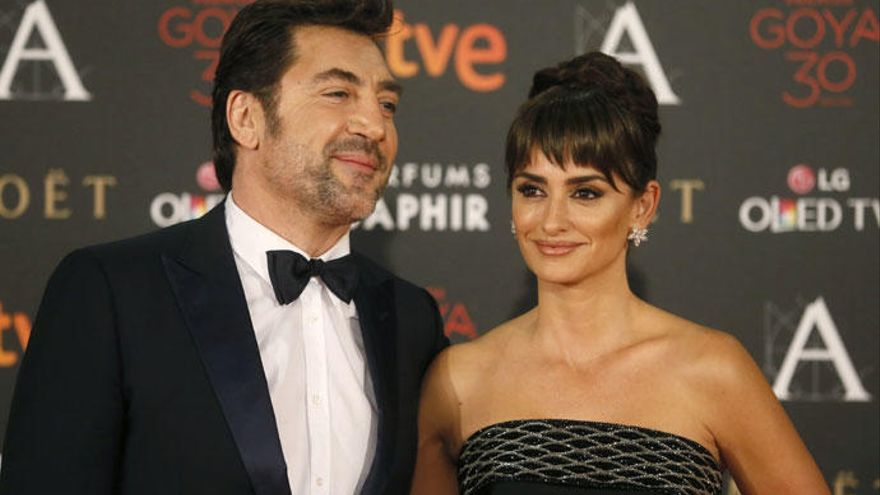 Bardem y Cruz, entre los actores nominados a los Goya
