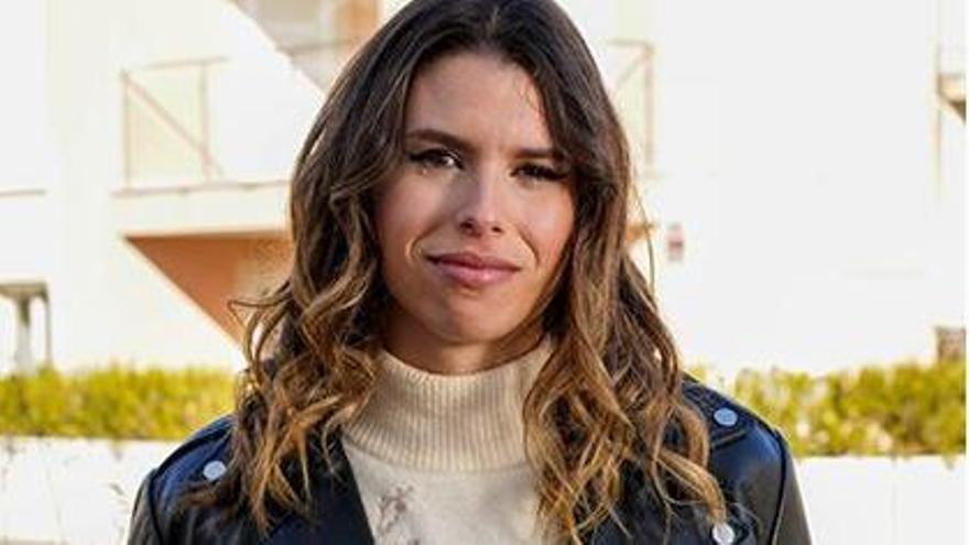 Mireia Mendoza, vendedora de la ONCE y modelo.