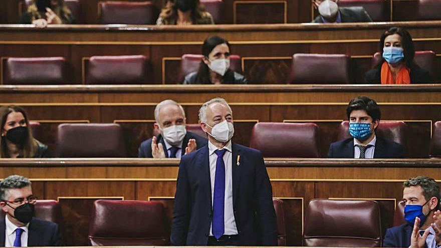 El estradense Juan Constenla toma posesión como nuevo diputado del PP en el Congreso
