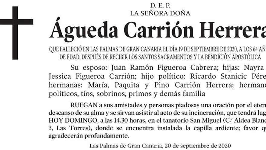 Águeda Carrión Herrera