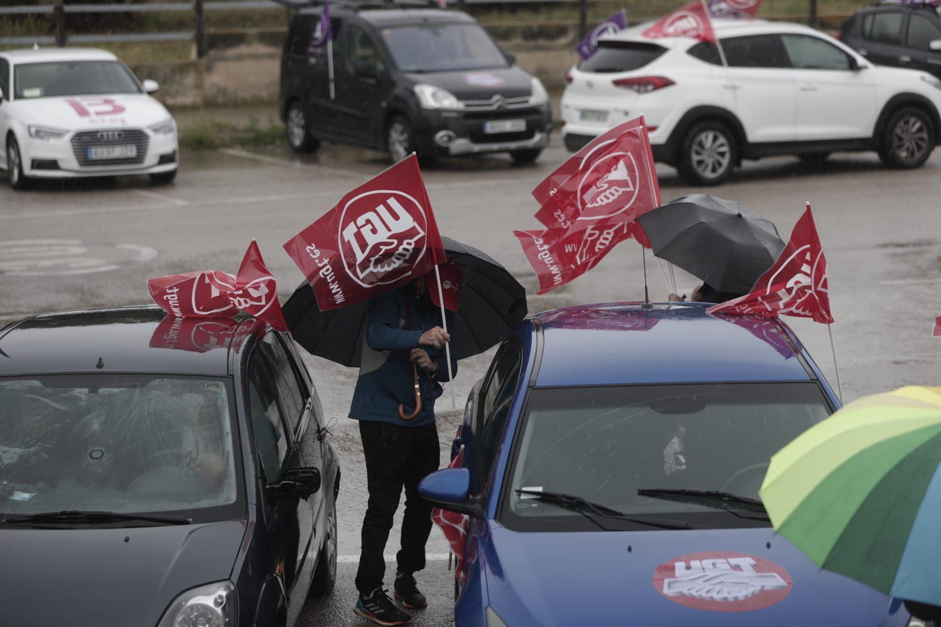 Los sindicatos reivindican los derechos de los trabajadores y exigen la derogación de la reforma laboral en el 1 de mayo