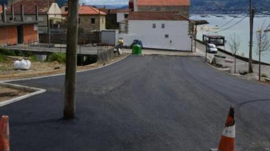 Vecinos de Tirán exigen a Portos la conexión del frente de O Con con el renovado Camiño Real