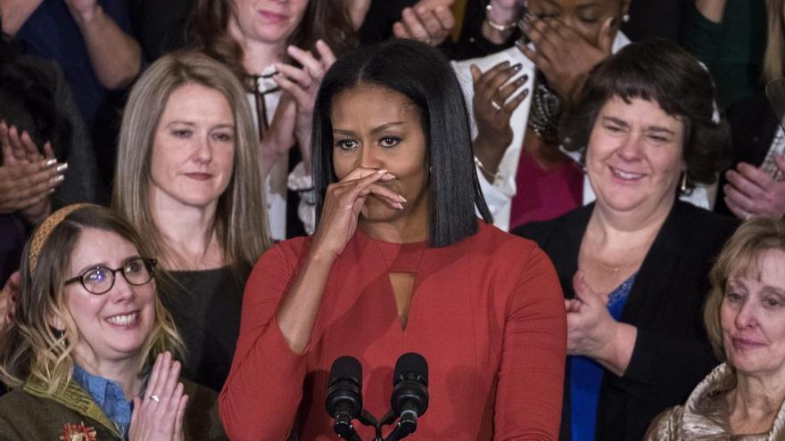 Michelle Obama confiesa que sufre una depresión