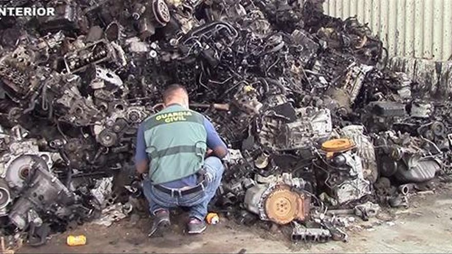 Desarticulan varios grupos que exportaban residuos a países pobres